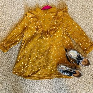 Rylee + Cru toddler dress 2-3 yr